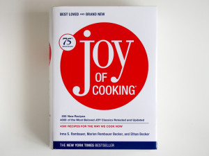 The Joy of Cooking, by Irma Rombauer, Marion Rombauer Becker, and Ethan Becker