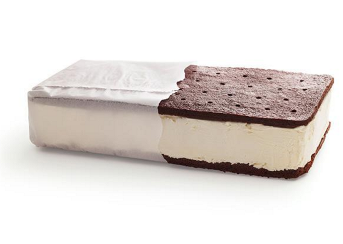 Giant Ice Cream Sandwich. Photo Credit: Food Network.