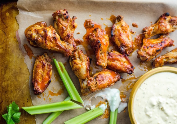 Buffalo Chicken Wings. Photo Credit: The Kitchn.