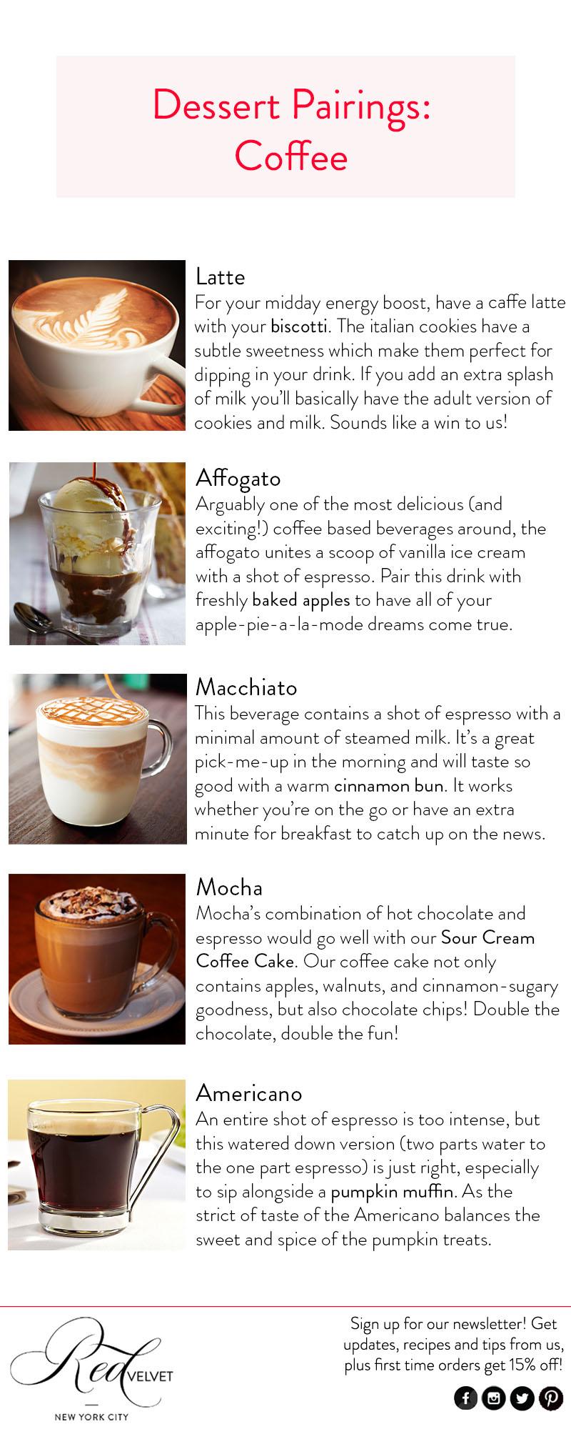 dessert pairings-coffee