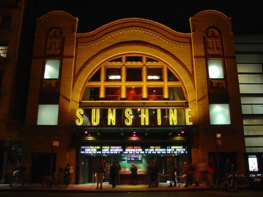 Landmark Sunshine Cinema. Photo Credit: Cinema Treasures.