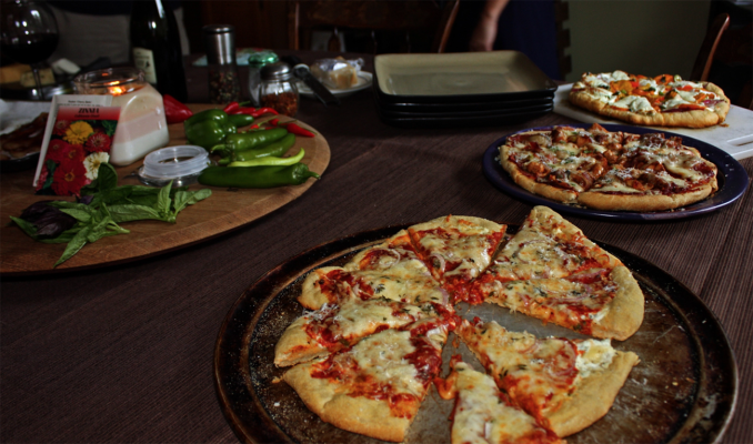 Grilled Pizza Party. Photo Credit: Jay's Grill.