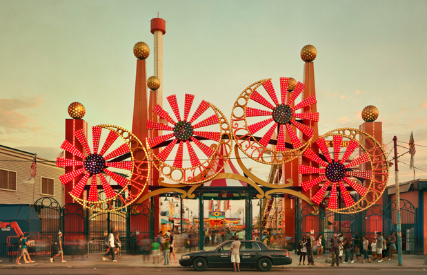 Luna Park NYC. Photo Credit: Tumblr.